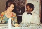 Princess Anne visiting Emperor Haile Selassie in 1972