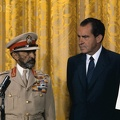 Richard Nixon with Haile Selassie